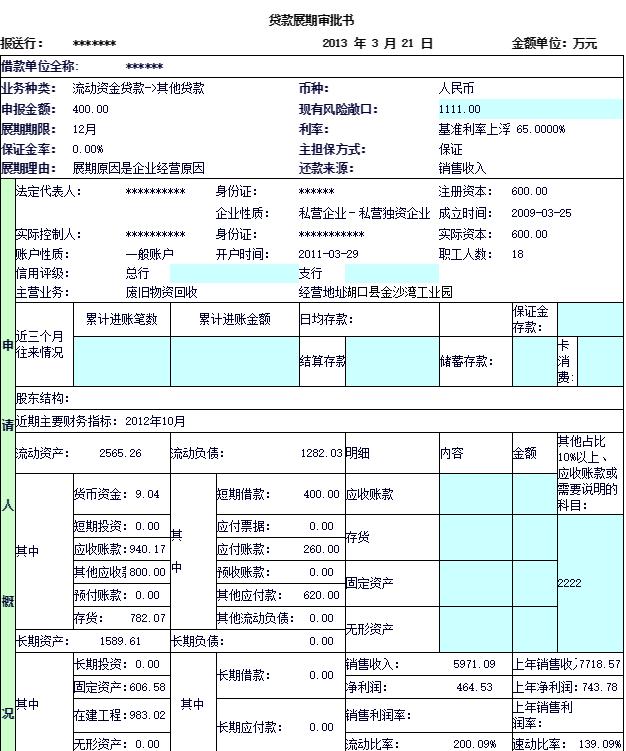 复杂格式报表